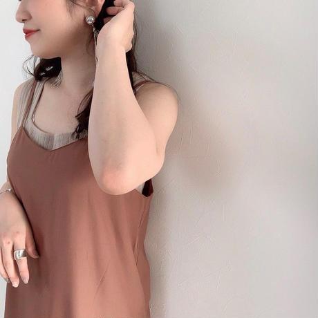 ladies * camisole OP /  terracotta