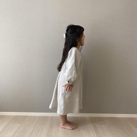 kids * linen shirt OP / sage