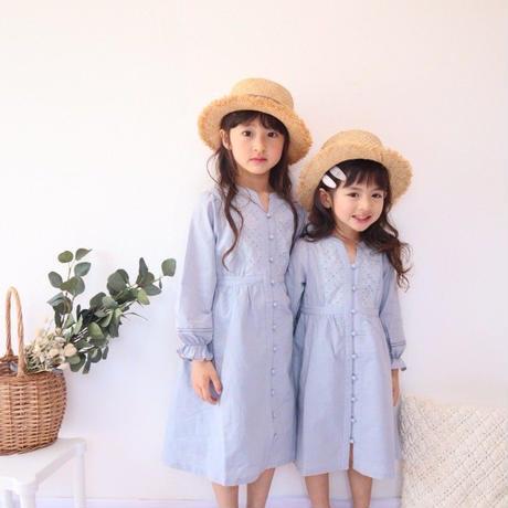 """kids  """"feuilletée""""  /  blue grey"""