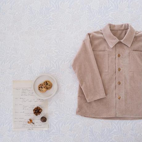 Over shirt / milk tea <09-20>