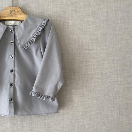 kids * Lily blouse / mauve grey