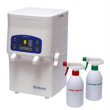 【電解水生成装置】LABO-SCI 強酸性水/強アルカリ水生成装置(各2L)!!除菌はこれ1台!!