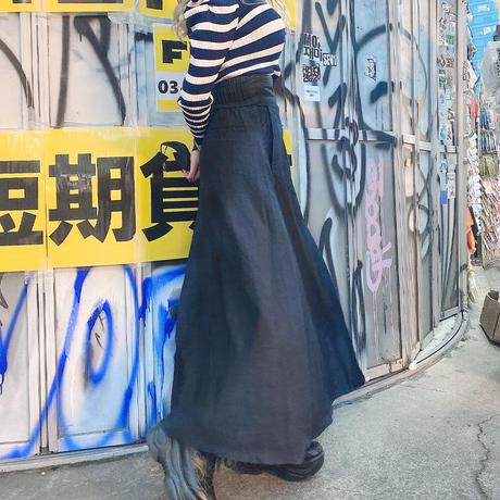 デニム巻きスカート M(数量限定販売)