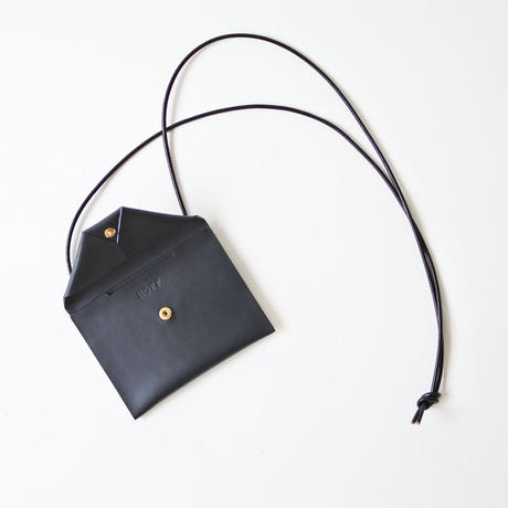 Neck Wallet L #NAVY(MIDNIGHT BLUE)
