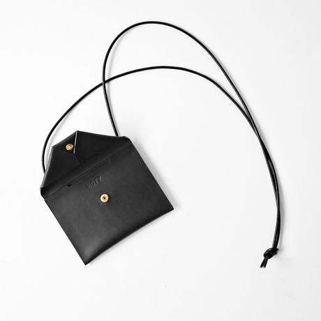 Neck Wallet L #BLACK