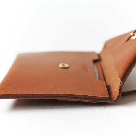 Neck Wallet L #BROWN