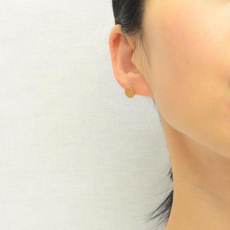 K18 pierced earring (Horizontal / K18 basic clasp)