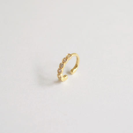 Diamond ear cuff (K10)