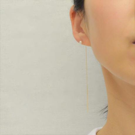 K10 American pearl pierce