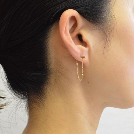 dazzle chain pierce  (diamond / short)