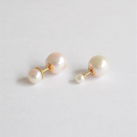 Pearl rivets (3.6mm pearl × 8.0-8.5mm Akoya pearl)