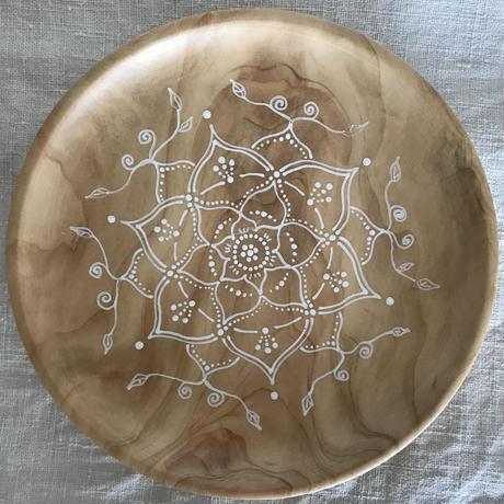木のお皿(ヒノキ)