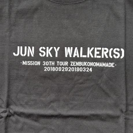 30周年ツアー 全部このままで Tシャツ
