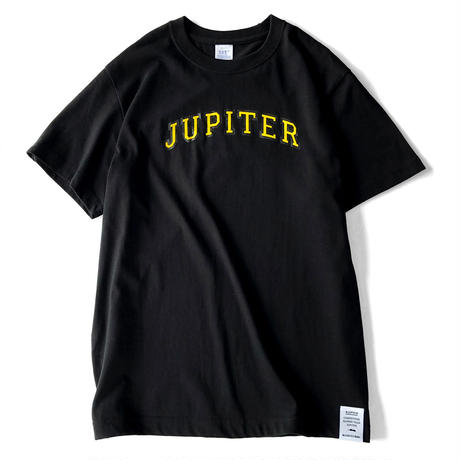 JUPITER COLLEGE T-SHIRTS BLACK