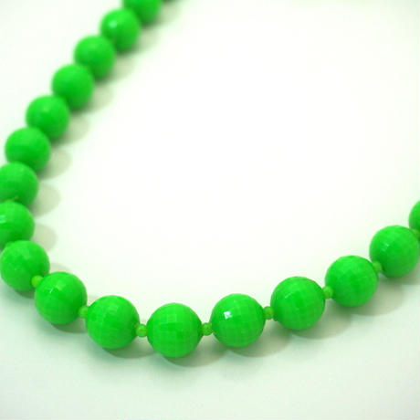 Maybe 60-70s  Vintage Necklace  Green《送料無料》
