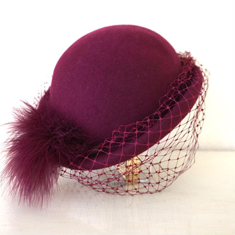 Hand trimmed hat