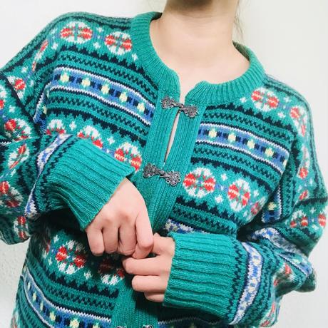 Maybe 1960s Scottish Wool Cardigan