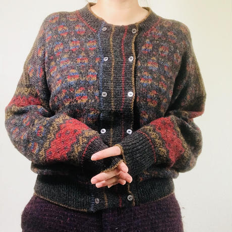 1980s Scottish Wool Knit
