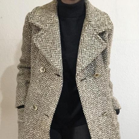 60s-70s  Aquascutum Tweed Coat  (no.275)