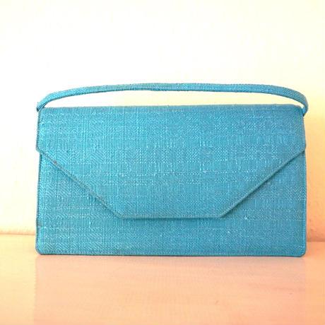 1960s Vintage  Hnadbag Blue