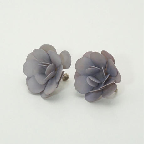Maybe 50s Flower Earings Light Blue《送料無料》(no.193)