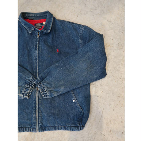 80's Ralph Lauren Denim Drizzler Jacket