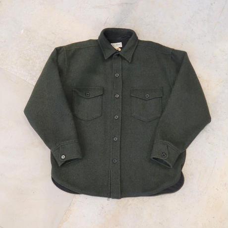 90's L.L.Bean Wind Stop Gore Wool Shirt Jackt