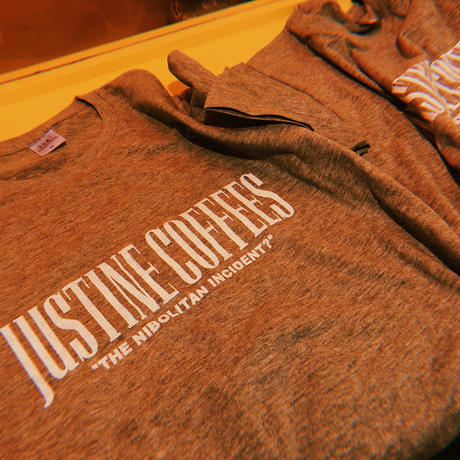 """JUSTINECOFFEES"" original  TEE"