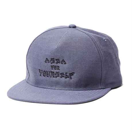 A SEA FOR YOURSELF SNAPBACK CAP (RUTSUBO×MHAK)