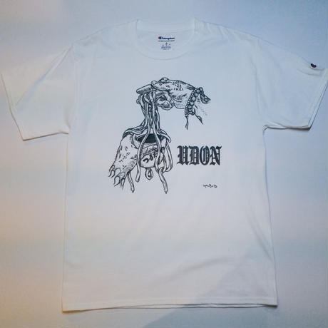 うどんTシャツ〜Gangsta hands〜