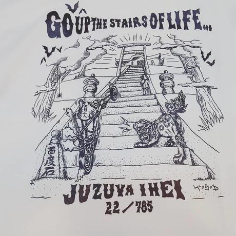 階段Tシャツ