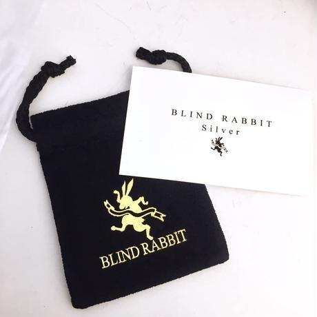 リマインズフルフェイスリング(Brass)[BLIND  RABBIT]