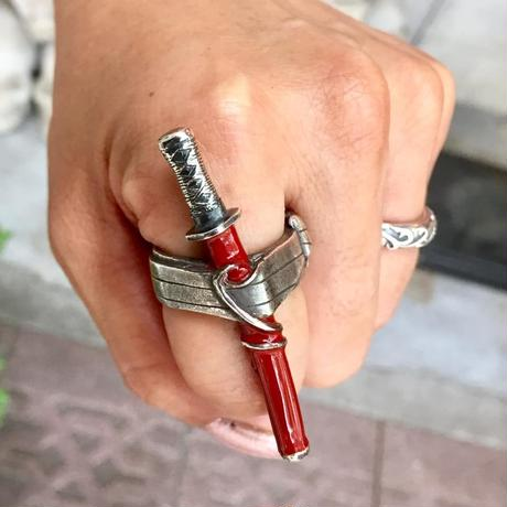 刀リング(赤)[LYNX]