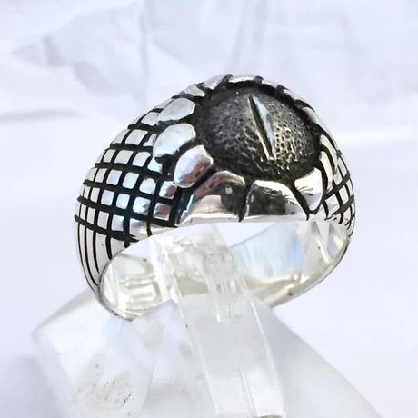 🌸春限定!アクセサリー🌸蛇眼(カガメ)リング[銀燭]