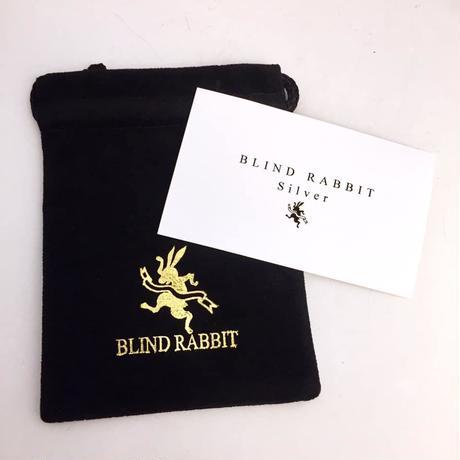 メタルアイEcstasis Brassキーホルダー[BLIND  RABBIT]