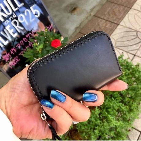 【即納可能!】カードの入る小銭入れ☆ラウンド・シェイプ・ファスナー・コイン・ケース