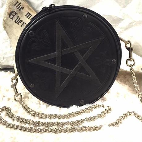 ☆一点物☆≪蛇骨堂セレクト≫Pentagram Handbag(ペンタグラム・ハンドバッグ)