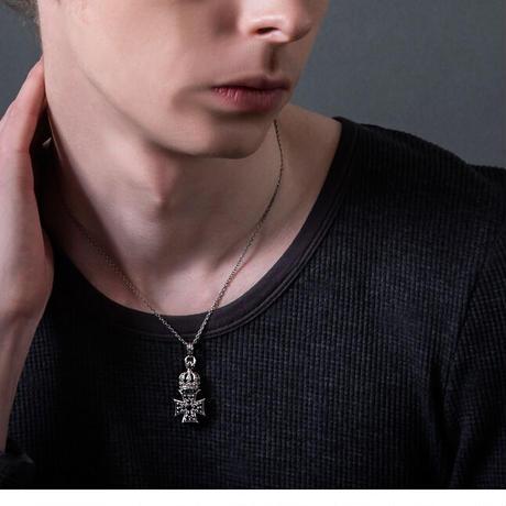 【即納可能!】クラウンアイアンクロスペンダント ~Crown iron cross pendant~[Artemis Kings]