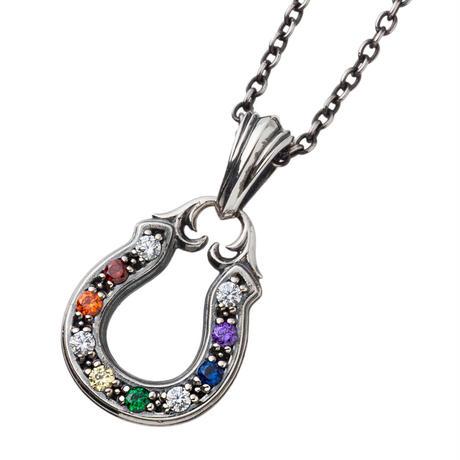 【即納可能!】マルチカラーホースシューチャーム~Multicolor horseshoe pendant~[Artemis Kings]