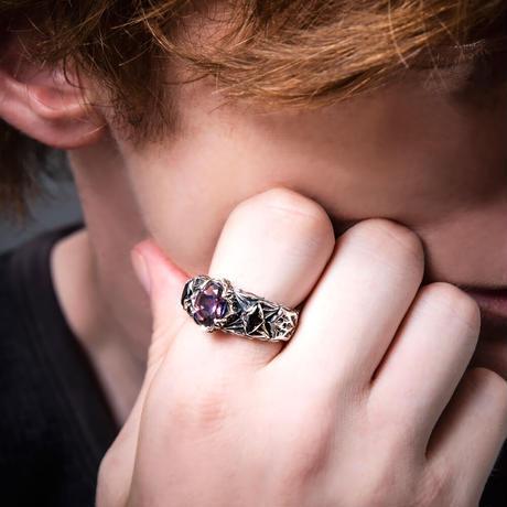 【即納可能!】ロンバスミスティックリング青紫 ~Rhombus Mystic Ring Blue Purple~[Artemis Classic]