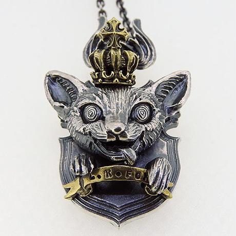 [anima-pendant]ハンティングトロフィーシリーズ  LittleKingFox-狂王の冠