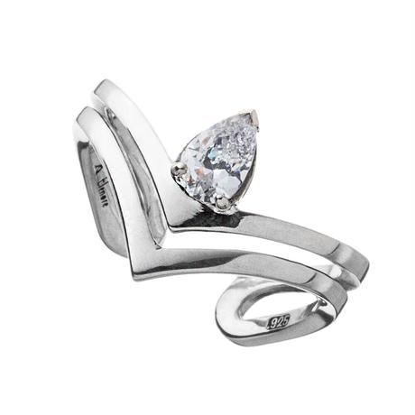 【即納可能!】ティアドロップVリングCL ~Teardrop V ring CL ~[Artemis Kings]