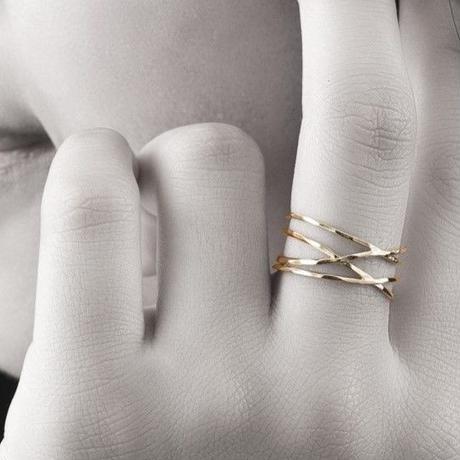 【#9号・#13号即納可能!】ラップリング[Elenore Jewelry]