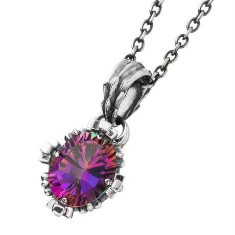 【即納可能!】 オーバルクラウンペンダント ミスティッククォーツ~Oval crown pendant Mystic Quartz~[Artemis Kings]