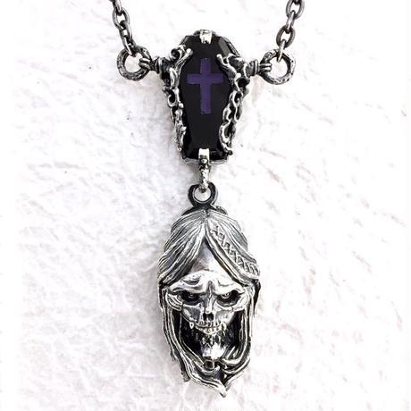 """【即納可能!】  witch-hunt""""skull face""""(ウィッチハント""""スカルフェイス"""")ペンダント"""