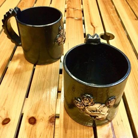 ドクロマグカップ~New薔薇と髑髏~