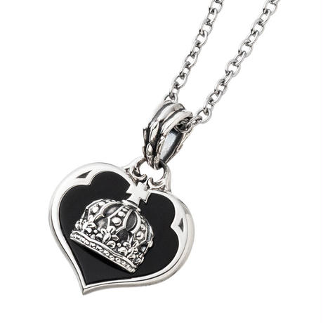 【即納可能!】クラウンハートペンダント ~Crown  heart  pendant~[Artemis Kings]