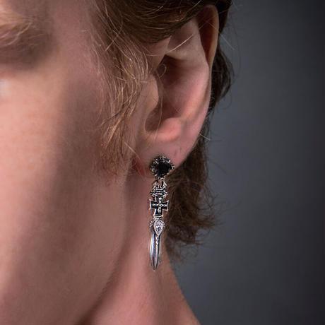 【即納可能!】クロスソードピアス ~Cross sword earrings~[Artemis Classic]