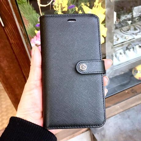 本革アイフォンXS MAX ブックケース
