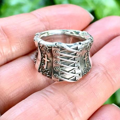 【サイズ#7号・即納可能!】Corset Ring (コルセットリング)